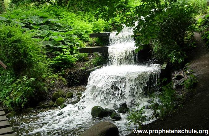 Wasserfall Strom