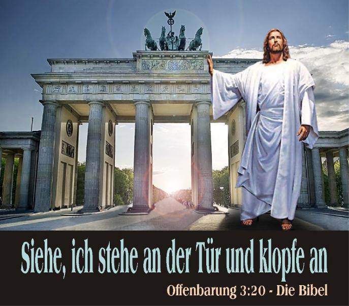 JESUS und Deutschland, Berlin, Brandenburger Tor