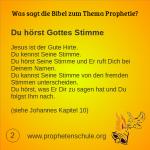 2 Bibelverse über Prophetie