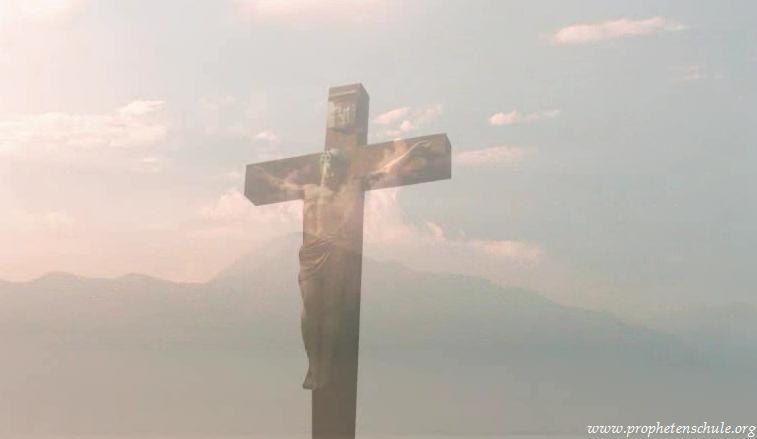 Meditation jesus am kreuz