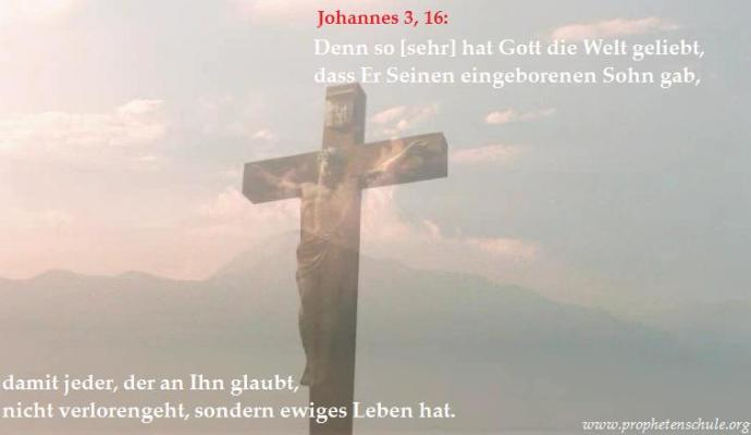 Jesus am Kreuz, Größte Liebe und Botschaft der Welt_2