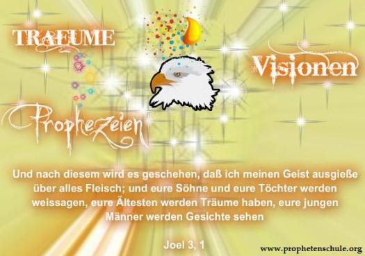 Träume Visionen Prophetie