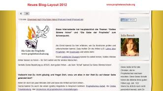 Neues Blog-Layout 2012_2