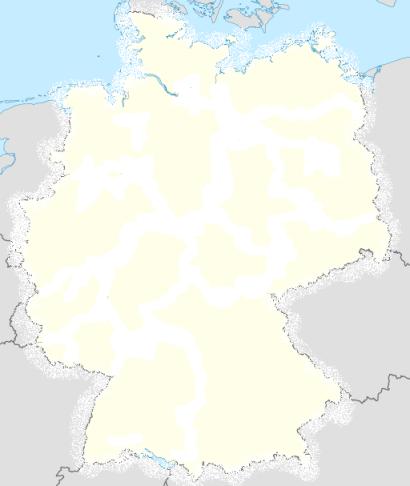 Deutschlandkarte Gottes Herrlichkeit breitet sich aus