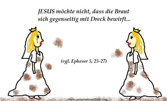 JESUS und Seine herrliche Braut