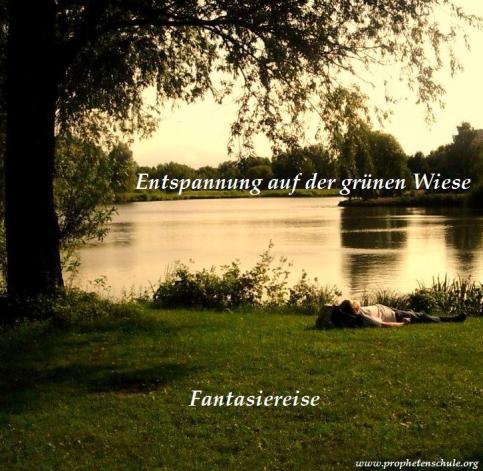 Entspannung auf der grünen Wiese Fantasiereise