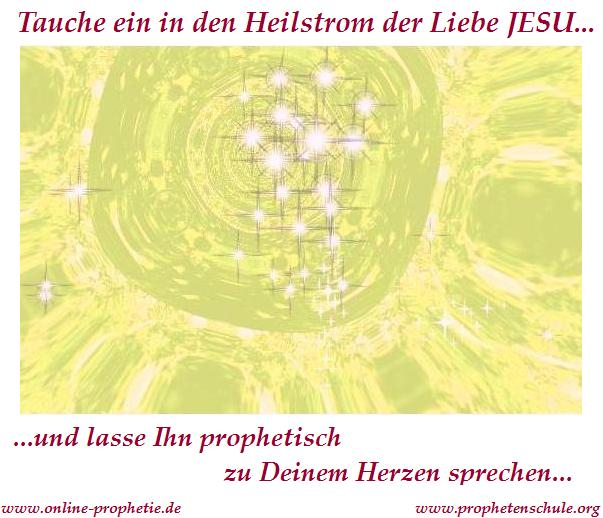 Heilstrom der Liebe JESU