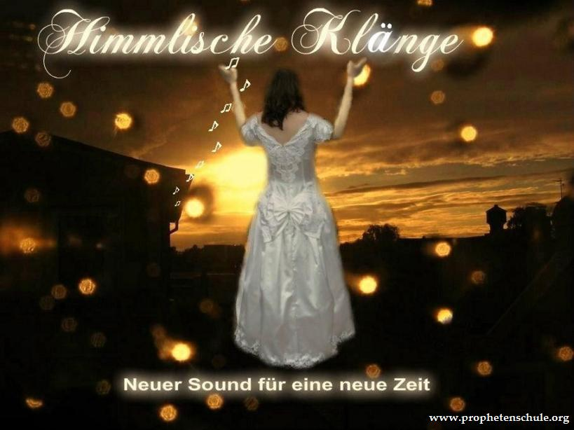 Bild Braut Sonnenuntergang Heavenly Sounds Himmlische Klänge