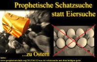 Schatzsuche statt Eiersuche