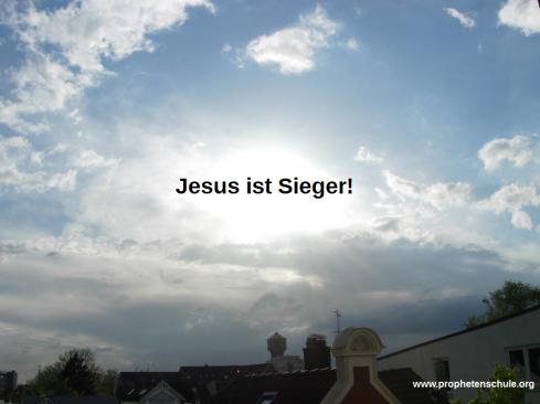Jesus ist Sieger!