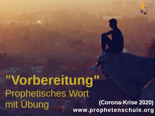 Vorbereitung - Prophetisches Wort mit Übung Berg Stadt