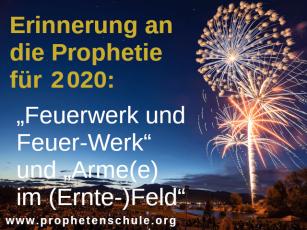 Bild Feuerwerk Prophetie 2020